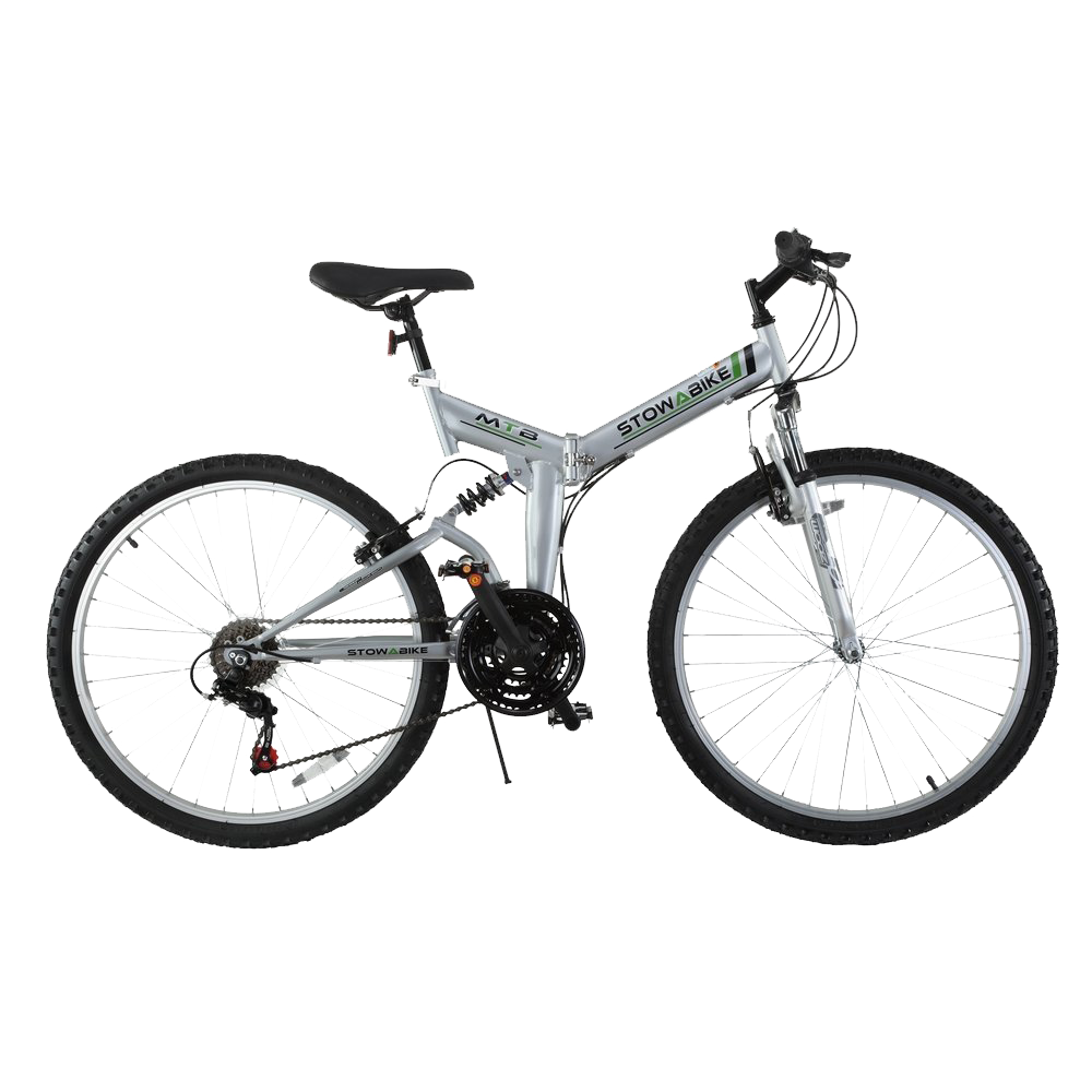 Stowabike 26 folding dual suspension mountain bike